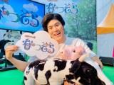 北海道・十勝の「おいしい・たのしい・新しい」がそろったイベントで「なつぞら」 パネル展開催。トークショーを行った番長こと門倉努役の板橋駿谷(C)NHK