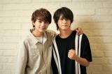 映画『ブラック校則』で初タッグを組む(左から)佐藤勝利、高橋海人(C)2019日本テレビ/ジェイ・ストーム