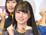 初選抜でフロントに抜てきされた4期生の賀喜遥香 (C)ORICON NewS inc.