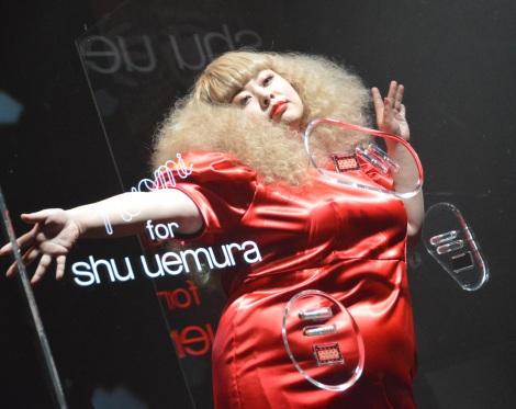 『naomi for shu uemura exclusive presentation』イベントに登壇した渡辺直美 (C)ORICON NewS inc.