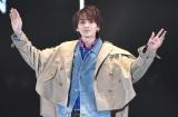 『マイナビ presents 第28回 東京ガールズコレクション 2019 SPRING/SUMMER』に出演した吉野北人 (C)ORICON NewS inc.