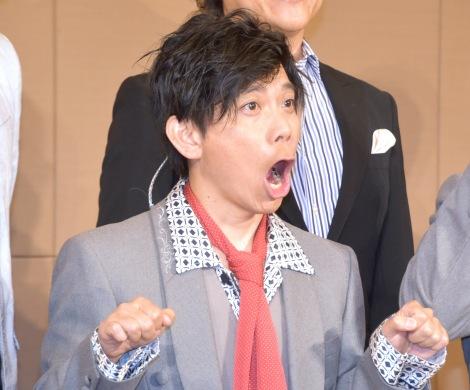 音楽劇『トムとジェリー 夢をもう一度』記者発表会見に出席した竹若元博 (C)ORICON NewS inc.