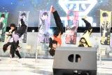 持ち味のアクロバットも披露=祭nine. 5thシングル「ゴールデンジパングソウル」発売記念イベント (C)oricon ME inc.