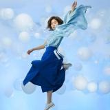 杏沙子の1stシングル「ファーストフライト」(8月7日発売)のジャケット写真 ※通常盤