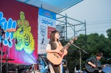 アコースティックギターの新編成で、新曲含め計5曲を披露した矢井田瞳