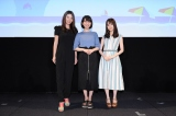 メディアミックス次世代ガールズバンドプロジェクト『BanG Dream!』(バンドリ!)の『夏の大発表会2019』に登場した(左から)Raychell、愛美、伊藤美来