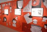 『特別展 りぼん 250万りぼんっ子▼(ハート)大増刊号』の展示物・ちびまる子ちゃん(C)さくらプロダクション