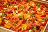 『緊急取調室』のキャスト&スタッフのために速水もこみちが作った野菜たっぷりメキシコ料理(C)テレビ朝日