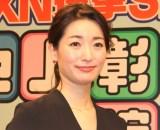 選挙特番『TXN選挙SP 池上彰の参院選ライブ』取材会に出席した大江麻理子(C)ORICON NewS inc.