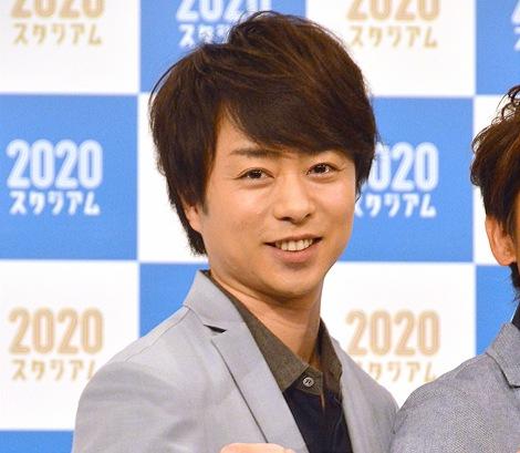 嵐・櫻井翔=NHK東京2020オリンピック開幕1年前SP『2020スタジアム』の取材会 (C)ORICON NewS inc.