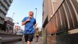 7月20日放送、『調べるJ』。Travis Japan・松田元太が有名餃子チェーンの餃子だけで東海道を走る!?(C)テレビ朝日