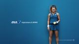 テニスプレイヤーの大坂なおみ選手が出演するANA国内版のテレビCM「ひとには翼がある」篇