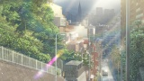 「ねぇ、今から晴れるよ」街が美しく光り出すエモーショナルなシーンにはRADWIMPSのすてきな音楽が…(C)2019「天気の子」製作委員会