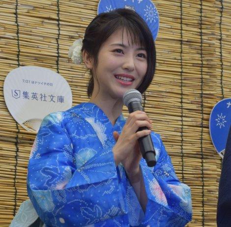 浜辺美波=『7月21日「ナツイチの日」』記念発表会 (C)ORICON NewS inc.