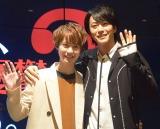 映画『探偵は、今夜も憂鬱な夢を見る。2』のトークショーに参加した (左から)小越勇輝、廣瀬智紀 (C)ORICON NewS inc.