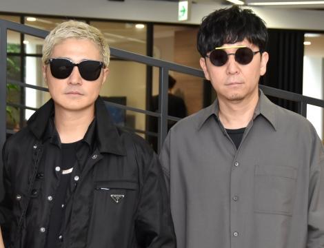 『ENERGY MUSIC PROJECT』公開実験イベントに出席したm-flo(左から)VERBAL、☆Taku-Takahashi (C)ORICON NewS inc.