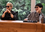 『ENERGY MUSIC PROJECT』公開実験イベントに出席したm-flo(左から)VERBAL、☆Taku-Takahashi (C)ORICON NewS inc.