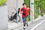 異例の男性走者・間宮祥太朗(C)テレビ朝日