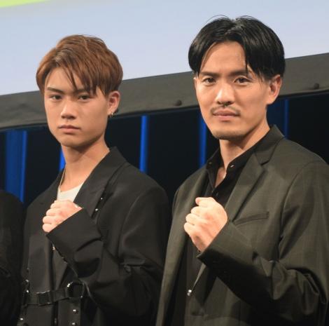 (左から)宇原雄飛、KEISEI=新ボーカリストオーディション『DEEP VOCALIST AUDITION』のファイナル審査 (C)ORICON NewS inc.