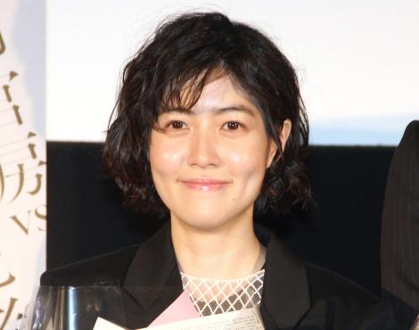 映画『新聞記者』大ヒット御礼舞台あいさつに出席したシム・ウンギョン (C)ORICON NewS inc.