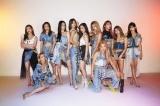 E-girls=『FNSうたの夏まつり』出演アーティスト