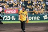 阪神タイガースの大ファンという間宮祥太朗は感激もひとしお(C)テレビ朝日