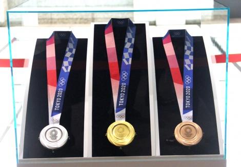 東京2020オリンピック1年前セレモニーでオリンピックメダルのデザインを発表 (C)ORICON NewS inc.