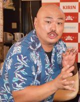 『渋谷肉横丁インスタ映え大賞』にゲストとして参加したクロちゃん (C)ORICON NewS inc.