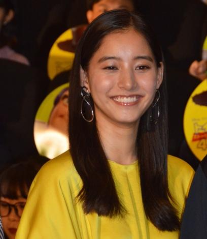 映画『トイ・ストーリー4』大ヒット記念舞台あいさつに登壇した新木優子 (C)ORICON NewS inc.
