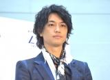 YAMAHA『はしれ!絵本展』オープニングイベントに出席した斎藤工 (C)ORICON NewS inc.