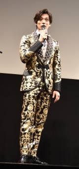 映画『二ノ国』のジャパンプレミアに登壇した新田真剣佑 (C)ORICON NewS inc.