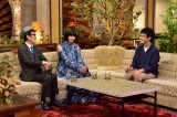 『The Covers』でリリー・フランキー&池田エライザとトークする崎山蒼志 (C)NHK