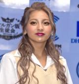 22歳の制服姿に自信満々だったゆきぽよ=『DHC渋谷スタジオ』オープニング記念セレモニー (C)ORICON NewS inc.