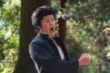 劇中で熱唱していた十勝農業高校の番長・門倉努(板橋駿谷)(C)NHK