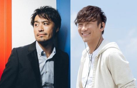 キマグレンの(左から)ISEKI、クレイ勇輝