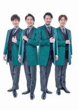 NHK『第51回思い出のメロディー』に出演する純烈 (C)NHK