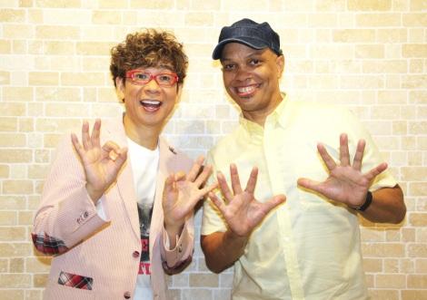 『ミュウツーの逆襲 EVOLUTION』に出演している(左から)山寺宏一、レイモンド・ジョンソン (C)ORICON NewS inc.