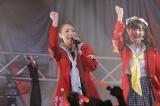 アニメ『ゾンビランドサガ』のライブ「〜フランシュシュみんなでおらぼう!〜in SAGA」の様子