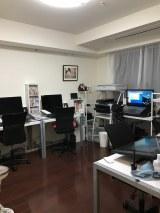 引っ越し後の職場部屋 (C)ORICON NewS inc.
