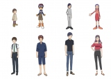 『02』キャラクターたちの対比