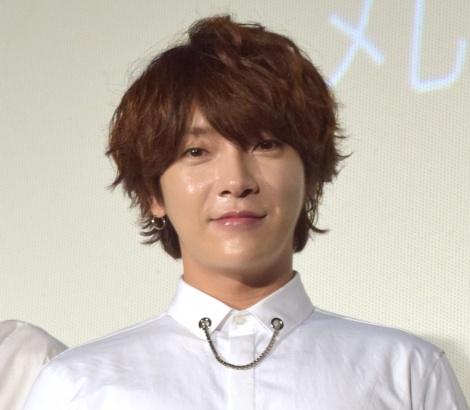 映画『超新星 10th Anniversary Film〜絆は永遠に〜』初日舞台あいさつに出席したSUPERNOVA・ユナク (C)ORICON NewS inc.