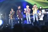 日本初のアリーナツアーを開催中のWINNER(左から)キム・ジヌ、ソン・ミノ、カン・スンユン、イ・スンフン