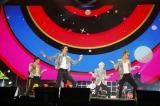 幕張メッセ公演を開催したWINNER(左から)キム・ジヌ、イ・スンフン、カン・スンユン、ソン・ミノ