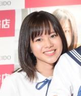 松風理咲=ソロ1st写真集『理咲』、『愛紗』、『玲亜』発売記念イベント (C)ORICON NewS inc.