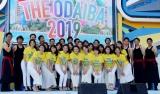 「ようこそ!!ワンガン夏祭り THE ODAIBA 2019」OPセレモニーに登場したフジテレビアナウンサー (C)ORICON NewS inc.