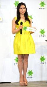 『8/1は水の日 い・ろ・は・す天然水10周年記念イベント』に出席した土屋太鳳 (C)ORICON NewS inc.