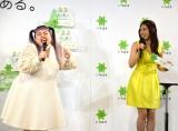 CMソングを歌いながら登場=『8/1は水の日 い・ろ・は・す天然水10周年記念イベント』 (C)ORICON NewS inc.