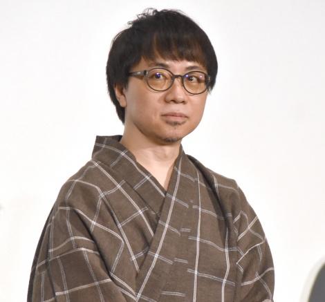 映画『天気の子』大ヒット御礼舞台あいさつに出席した新海誠監督 (C)ORICON NewS inc.