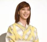 映画『天気の子』大ヒット御礼舞台あいさつに出席した本田翼 (C)ORICON NewS inc.