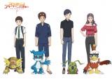 『デジモンアドベンチャー LAST EVOLUTION 絆』に登場する『02』キャラたちの設定画 (C)本郷あきよし・東映アニメーション